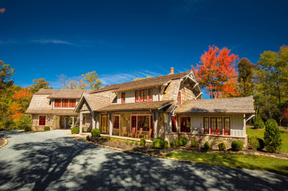 Andrew Roby Signature Home:  Mountain House Living