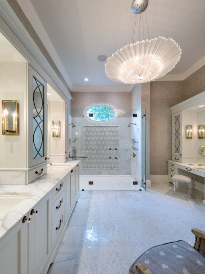 Master Bathroom:  Shower for Two