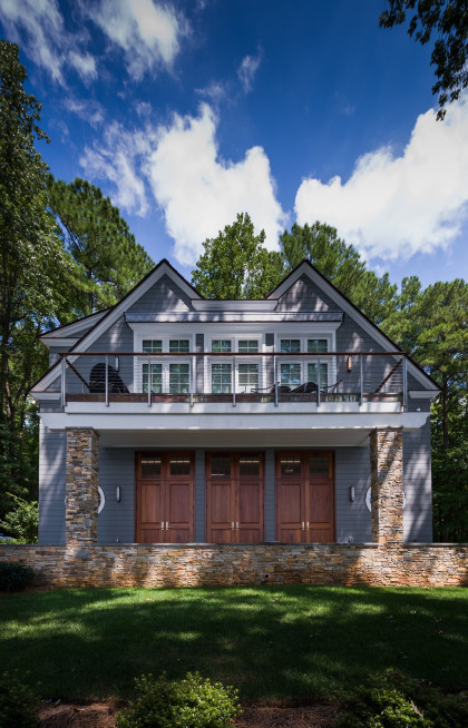 Andrew Roby Signature Home:  Lake Front Carriage House