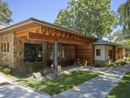 Andrew Roby Signature Home:  Lake Living Among the Trees