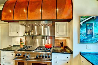 Kitchen Renovation:  Copper Hood