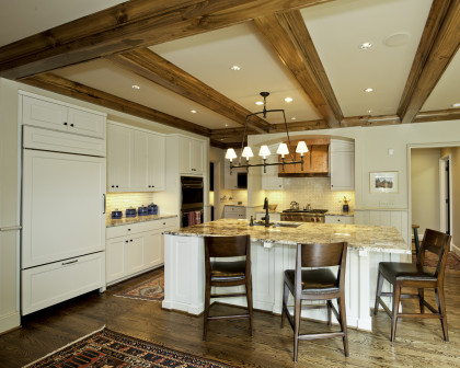 Kitchen Renovation:  Kitchen with Natural Materials