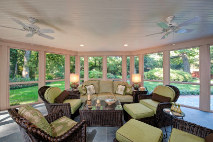 Porch & Patio:  Room to Relax