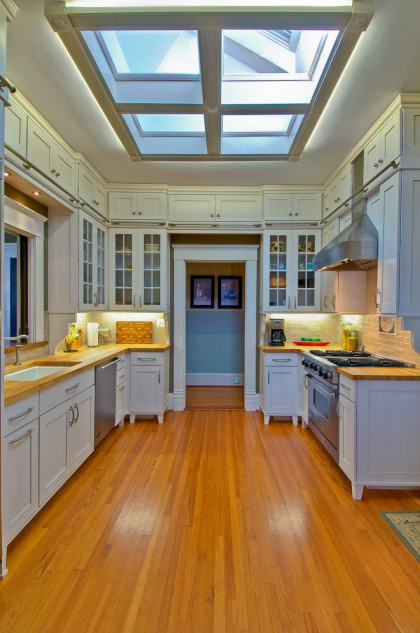Kitchen Renovation:  Skylight