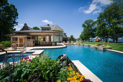 Outdoor Living:  Lake Living at its Finest