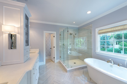Master Bath Fit for Two